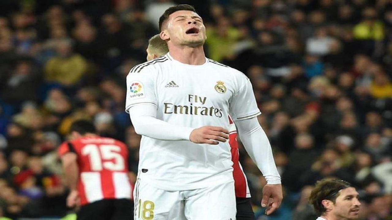 """ريال مدريد يقرر عزل اللاعب """"لوكا يوفيتش"""""""