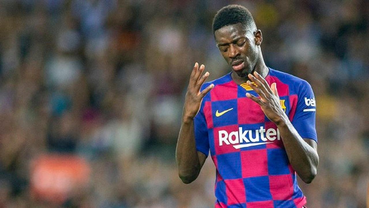 برشلونة يصدر قرار جديد بخصوص مستقبل عثمان ديمبلي