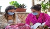 بالفيديو.. الملكة رانيا تُخيط الشماغ بنفسها