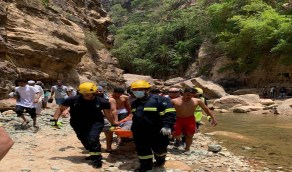 انتشال جثة شاب غرق في تجمع مياه صخري بجازان