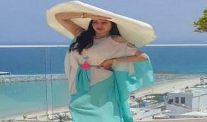بالفيديو.. تفاعل المتابعين مع أناقة لجين عمران وهي تطير فستانها