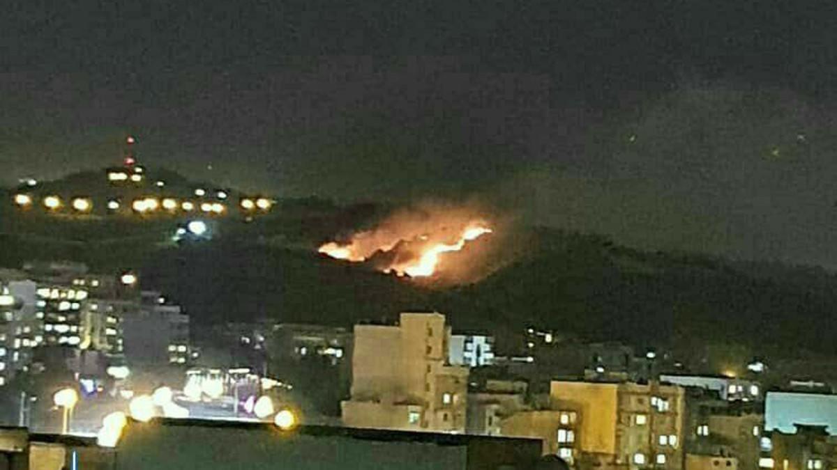 حريق جديد بحي يقطنه قادة الحرس الثوري الإيراني