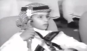 شاهد.. الأمير محمد بن سلمان في طفولته