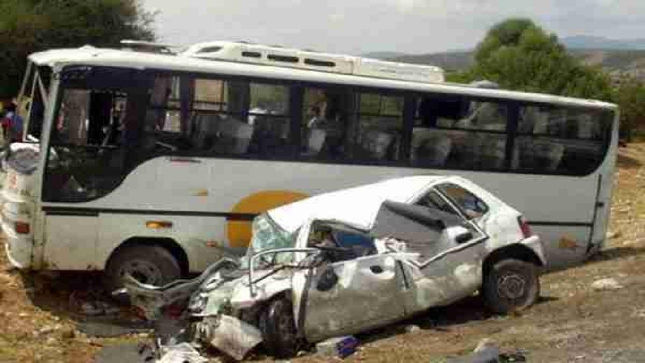 إصابات في اصطدام حافلة ومركبة بمحافظة المويه