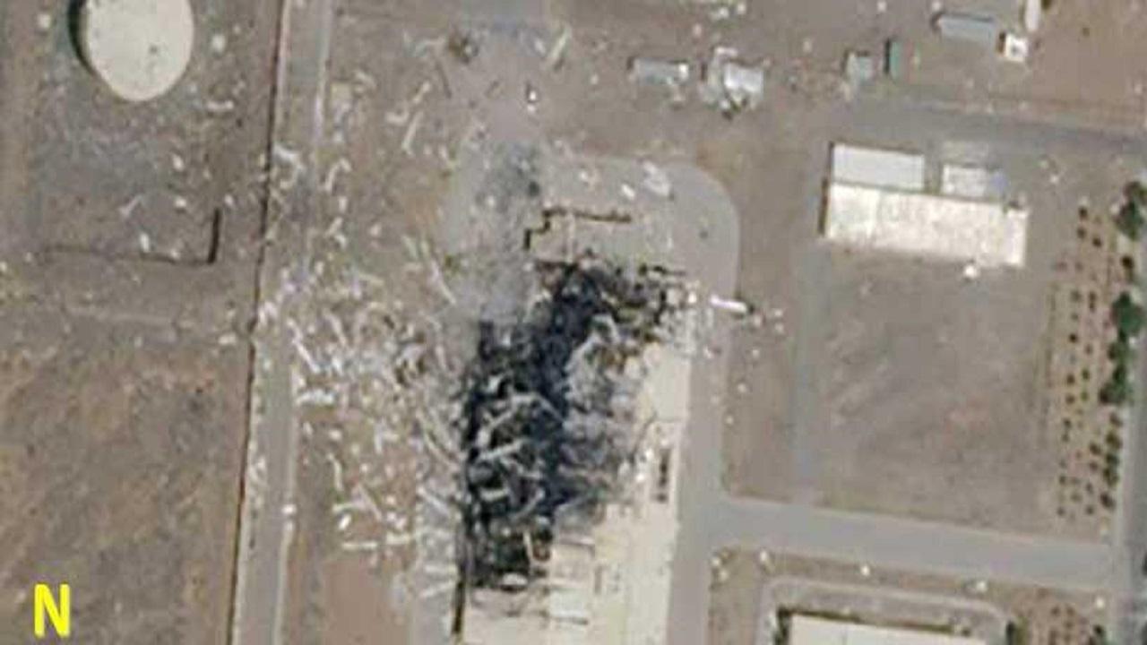 صور جوية جديدة تكشف تفاصيل الدمار الكبير في منشأة «نطنز» الإيرانية