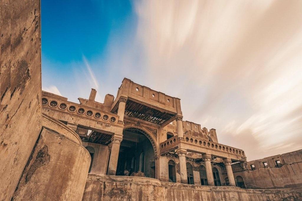 قصر جبرة التاريخي الذي استقبل فيه الملك عبدالعزيز حاكم مصر أنذاك