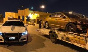 ضبط قائد مركبة تحمل لوحات مزورة ومارس التفحيط بالرياض