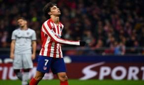 بالفيديو..ردة فعل غاضبة من نجم أتلتيكو مدريد بعد استبداله