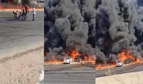 الصحة المصرية: إصابة 12 ولا وفيات في حريق ماسورة البترول