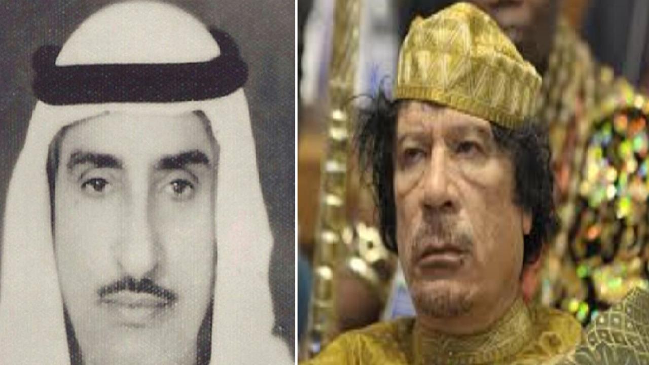 بالفيديو.. تسريب جديد لمحادثة بين الشيخ مالك الحمود الصباح ومعمر القذافي
