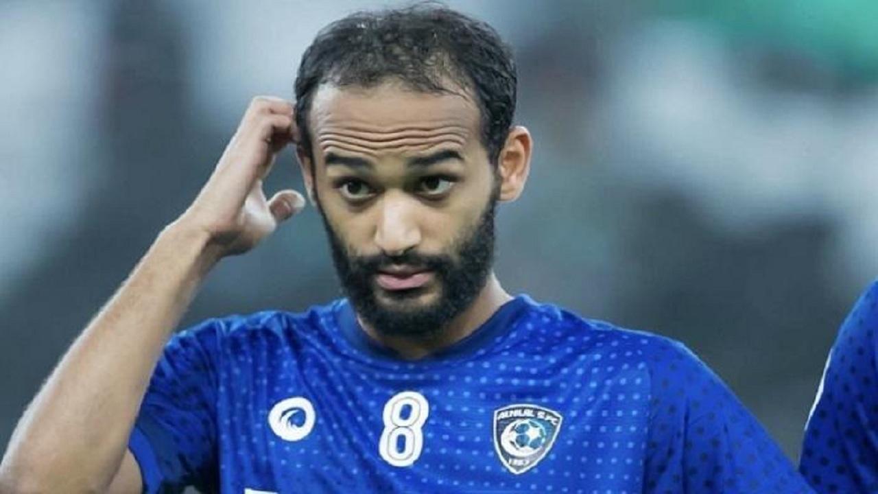 لاعب الهلال عبدالله عطيف يدخل المرحلة الرابعة من التأهيل