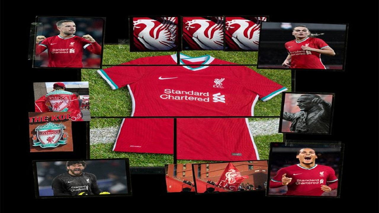 بالصور.. القميص الجديد لنادي ليفربول