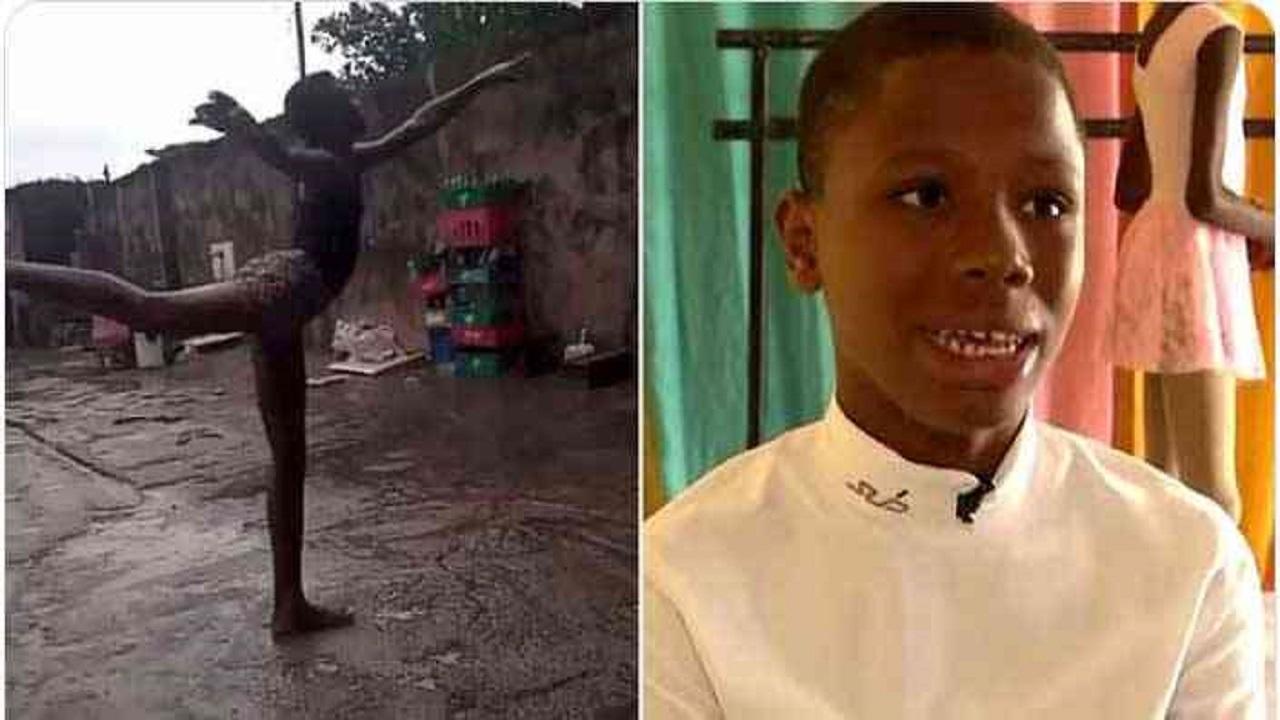 بالفيديو.. طفل يبهر العالم برقصه حافياً تحت المطر ويتحول لمحترف في امريكا
