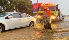 انتشال جثماني مواطنين بالقنفذة والليث إثر غرقهما بتجمعات مياه الأمطار