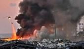 حقيقة فيديو سقوط صاروخًا على مرفأ بيروت قبل الانفجار