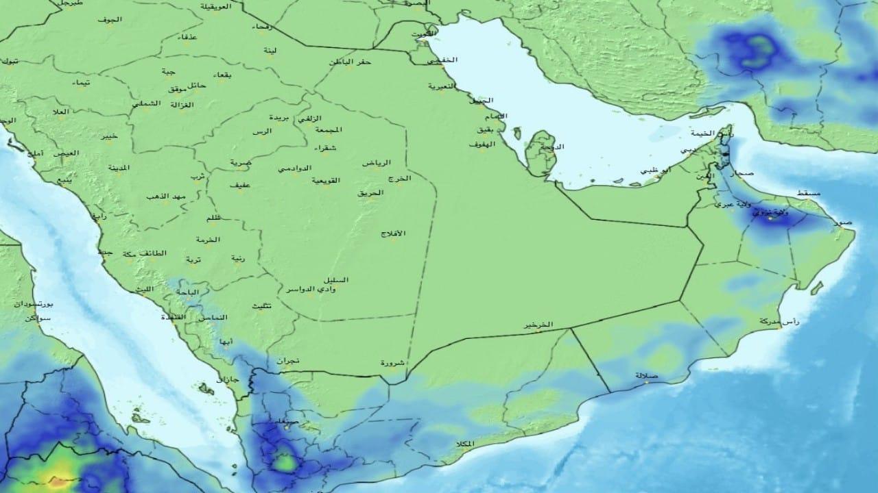 بالصور.. «الحصيني»: الحالة المطرية بدأت بالضعف