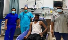 إنقاذ مقيم سوداني من الغرق بشرم ينبع