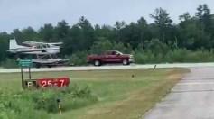 بالفيديو.. طريقة إقلاع الطائرات البرمائية من على اليابسة باستخدام سيارة