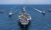 القمر الصناعي يكشف غرق حاملة طائرات «تدريبية» إيرانية خارج ميناء «بندر عباس»