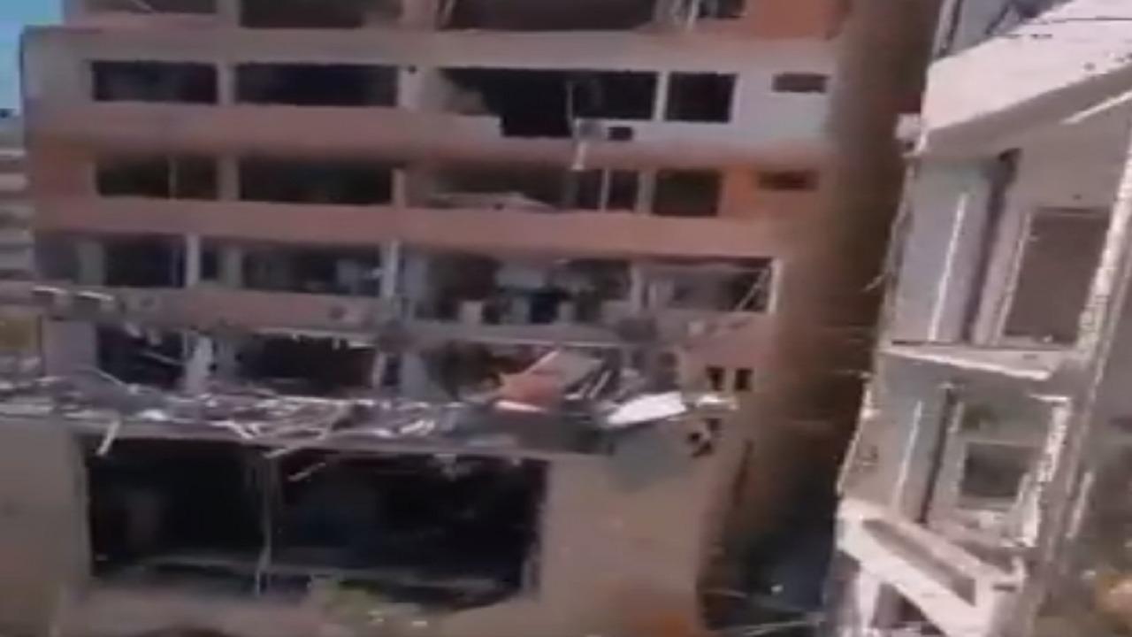 فيديو جديد يوثق الدمار والخراب الذي حل بالمنازل القريبة من مرفأ بيروت
