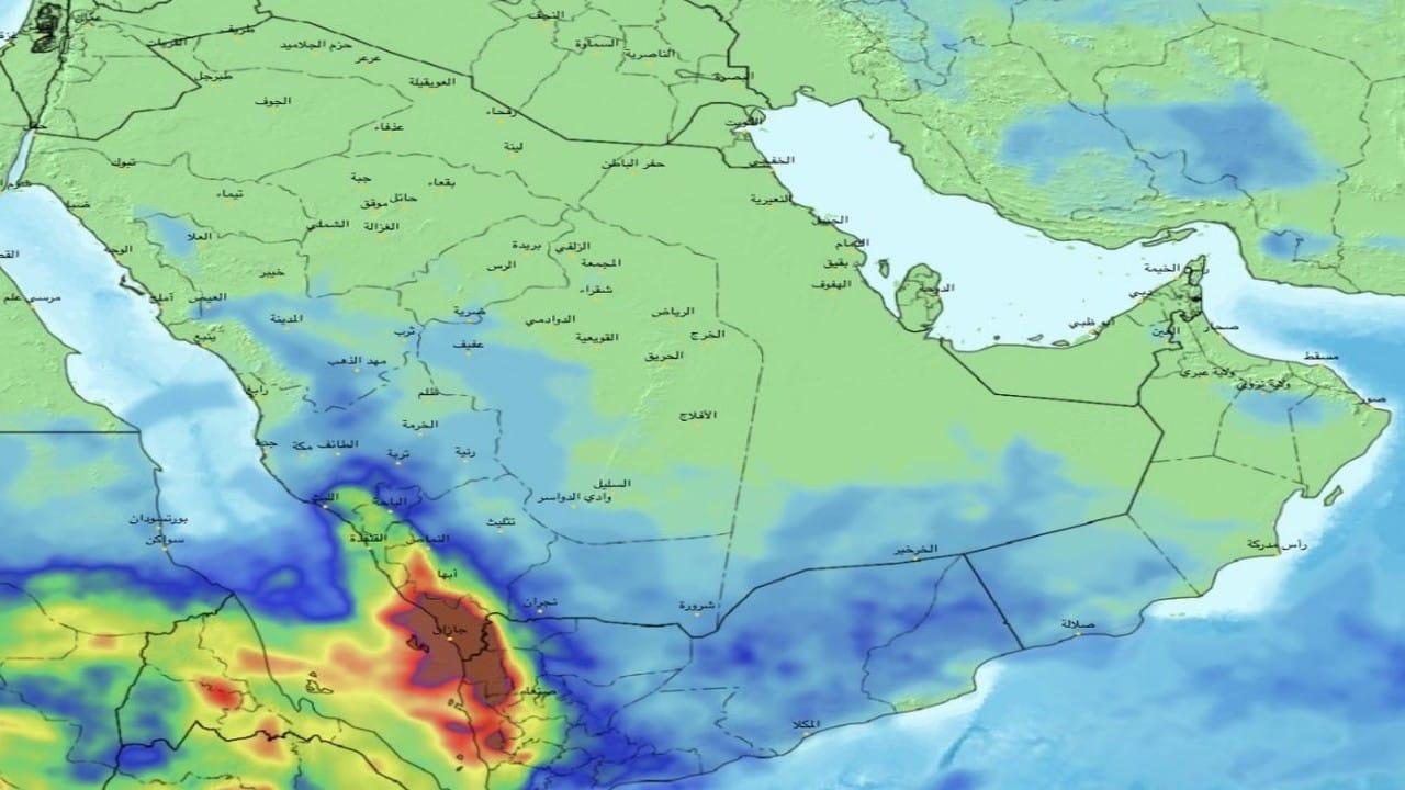«الحصيني» يتوقع أمطار ورياح على عدة مناطق (صور)