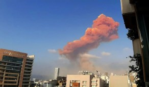 اندلاع الحرائق في تظاهرات لبنان