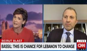 """مذيعة """"سي إن إن"""" توبخ صهر الرئيس اللبناني: متى ستتحمل مسؤوليتك!"""