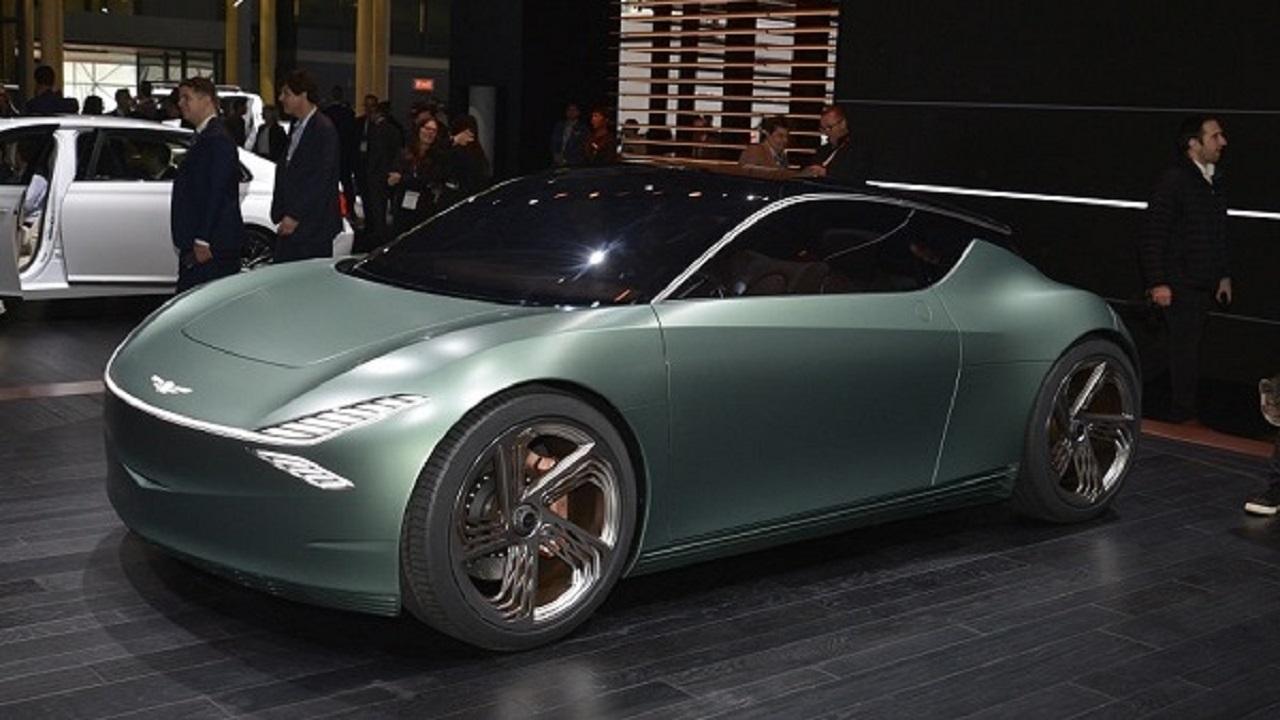جينيسيس تقتحم عالم السيارات الكهربائية بسيارة مذهلة