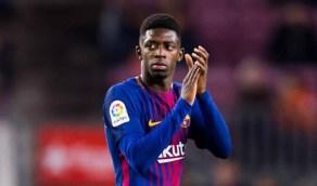 ديمبلي ينضم لبرشلونة في مواجهة نابولي