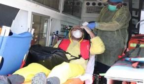 حرس الحدود يخلي بحارًا تركيًا على متن سفينة في مياه البحر الأحمر