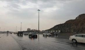 استمرار الأمطار الرعدية والرياح النشطة على 5 مناطق بالمملكة