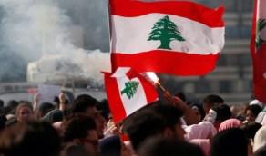 بالفيديو.. الشرطة اللبنانية تطلق الغاز المسيل للدموع على المتظاهرين الغاضبين