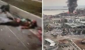 بالفيديو.. مشاهد مروعة لأشلاء ضحايا انفجار بيروت