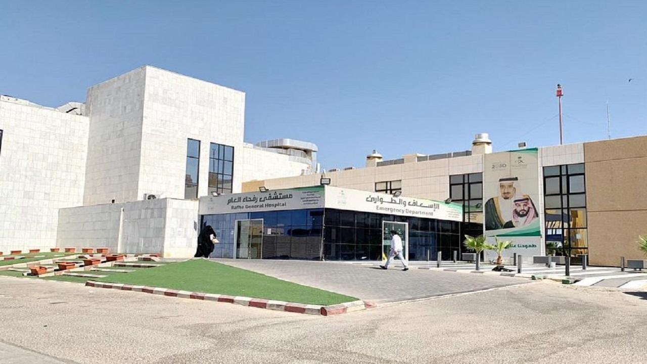 إجراء عمليتين قيصريتين لسيدتين أصيبتا بفيروس كورونا بمستشفى رفحاء المركزي