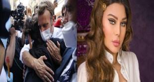 هيفاء وهبي تعلق على احتضان ماكرون لـ لبنانية : محرومة من حضن رئيسها