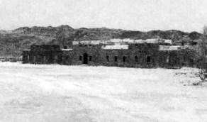 صورة نادرة لمركز خدمات البرق والبريد والهاتف بالمدينة عام ١٣٢٦هـ