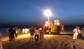 بالصور.. غرق عائلة في مستنقع وادي تربة