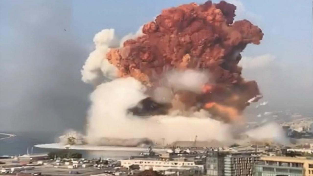 انفجار بيروت يتسبب في هزة أرضية تصل للدول المجاورة