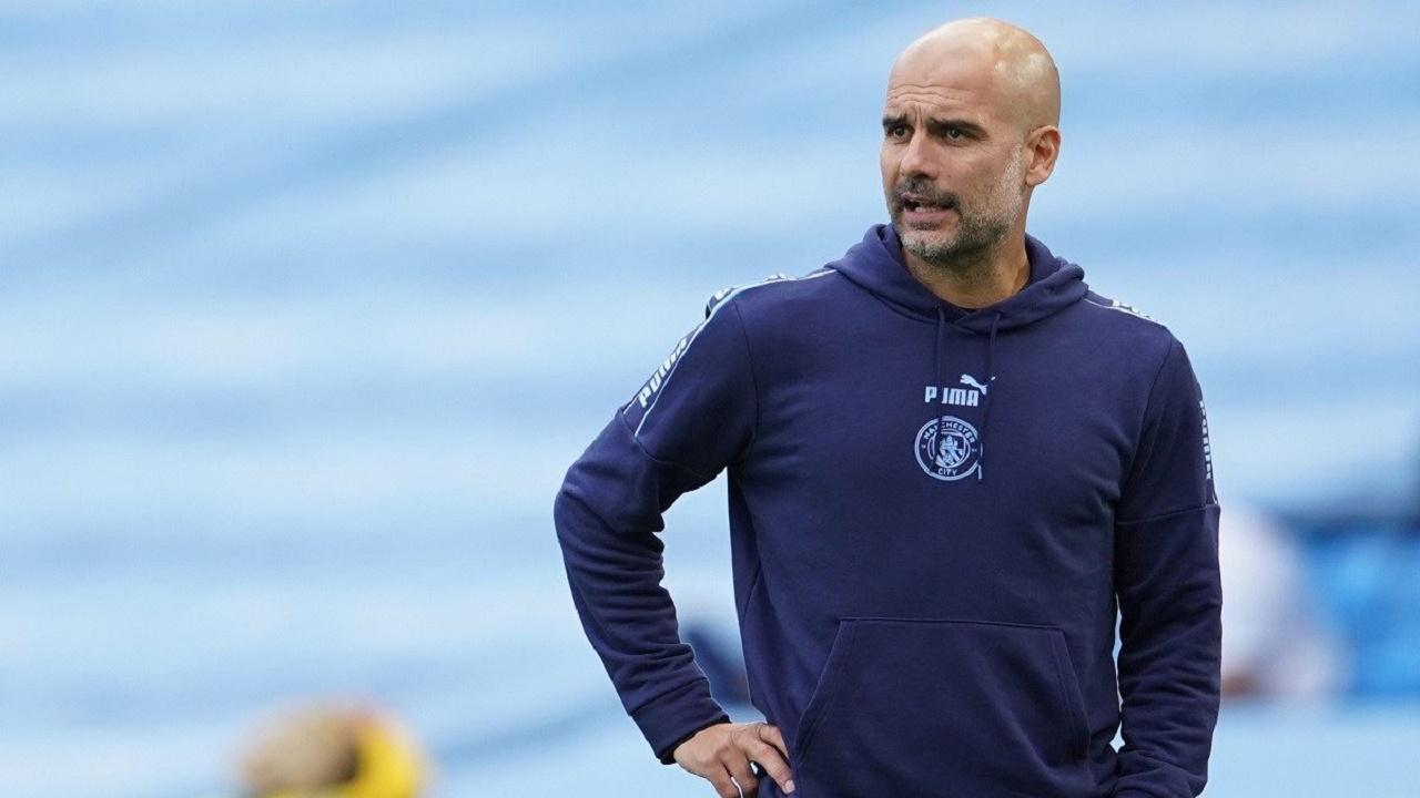 غوارديولا يُرسل خبر سار إلى نادي برشلونة