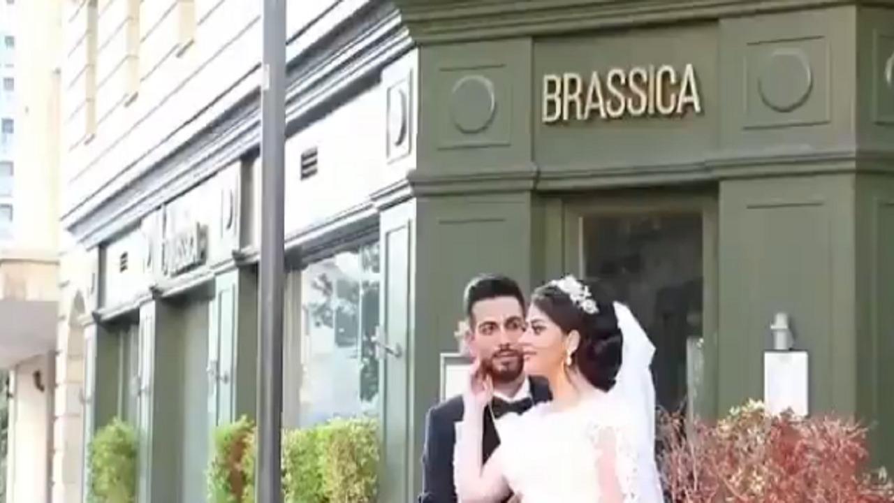 بالفيديو.. عروس أخرى في بيروت دمّر الانفجار عرسها