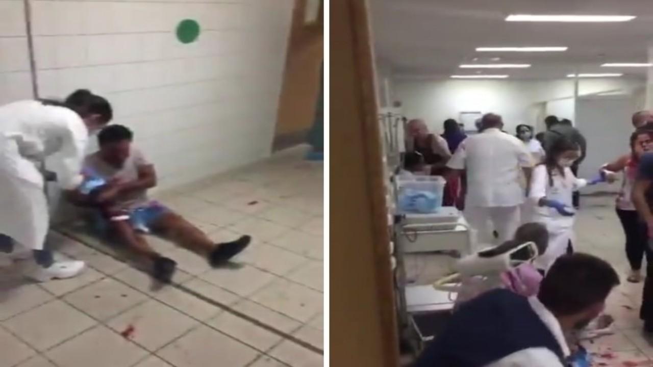بالفيديو.. إجراء عمليات بلا تخدير بعد تكدس المصابين في مستشفيات بيروت