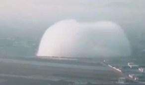 بالفيديو.. تفجير في سوريا يشبه انفجار مرفأ بيروت