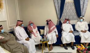 عقد قران الملازم عبدالله عبده أبوعيشة على ابنة الأستاذ حسين بن غازي علي آل غازي