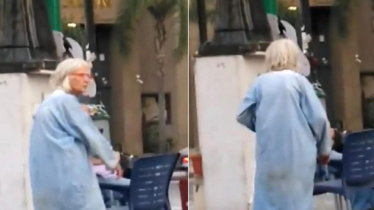 """""""جاد شويري"""" يخفف من أحزان اللبنانيين بفيديو غريب لـ """"مريم نور"""" أثناء الإنفجار"""