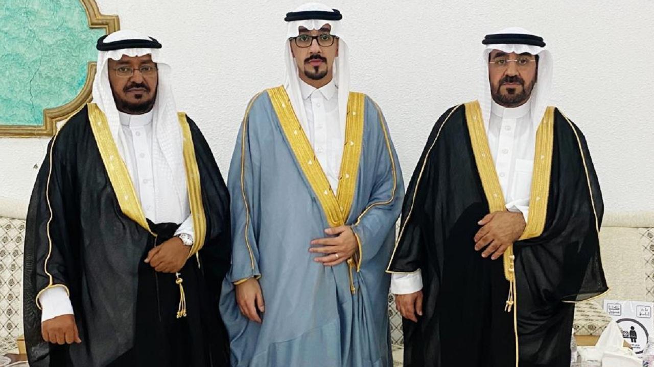 مهند القرني يحتفل بزفافه على كريمة الشيخ سعد الشمراني