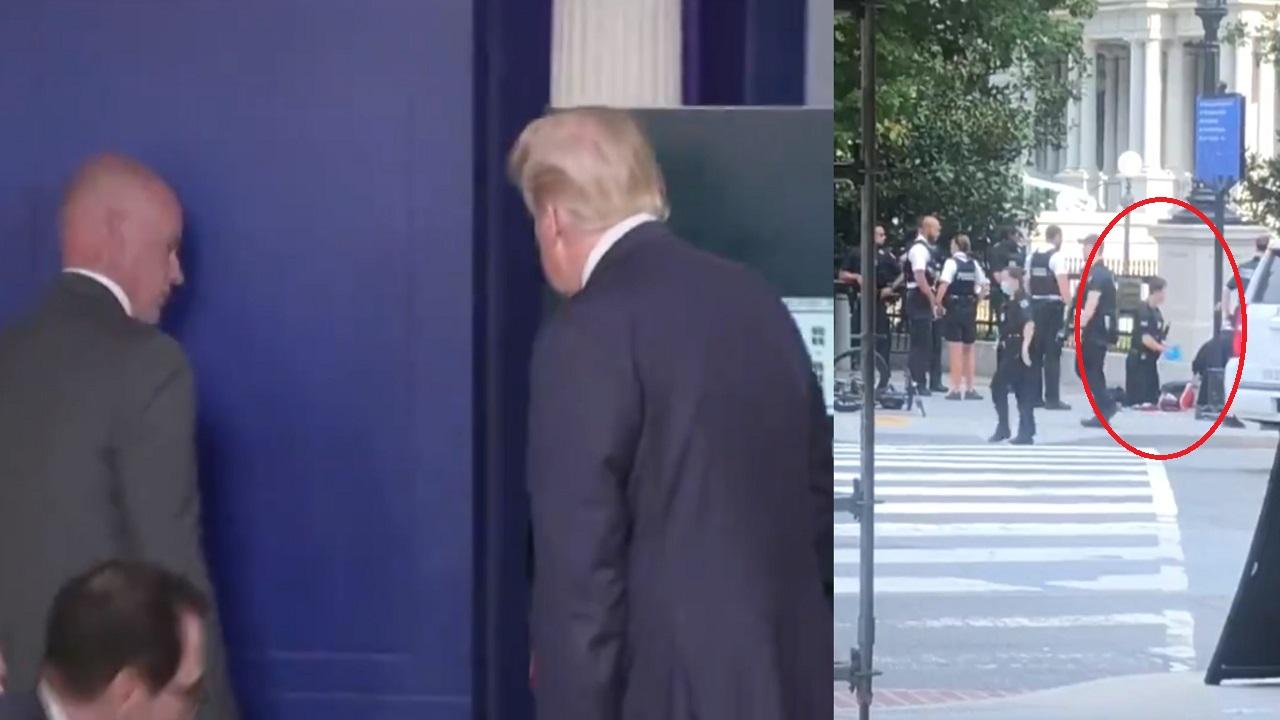 بالفيديو..لحظة اعتقال المشتبه به في إطلاق النار أمام البيت الأبيض
