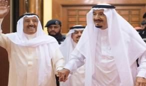شاهد فيديو نادر للأمير الراحل صباح الأحمد: «السعودية هي أمنا»