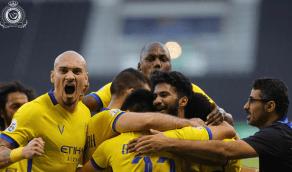 بالفيديو والصور .. النصر يتأهل إلى نصف نهائي دوري الأبطال