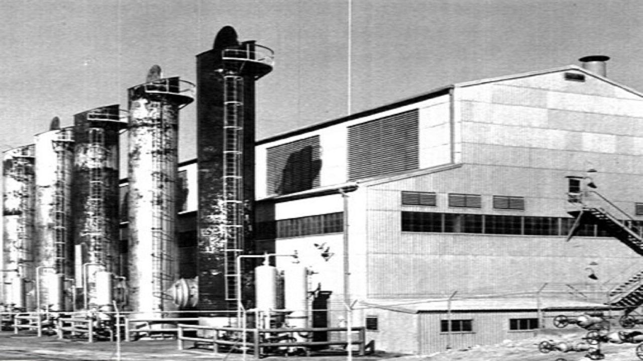 صورة نادرة لمحطة كهرباء الظهران قبل 60 عام