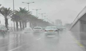 هطول أمطار رعدية مصحوبة برياح نشطة على 4 مناطق